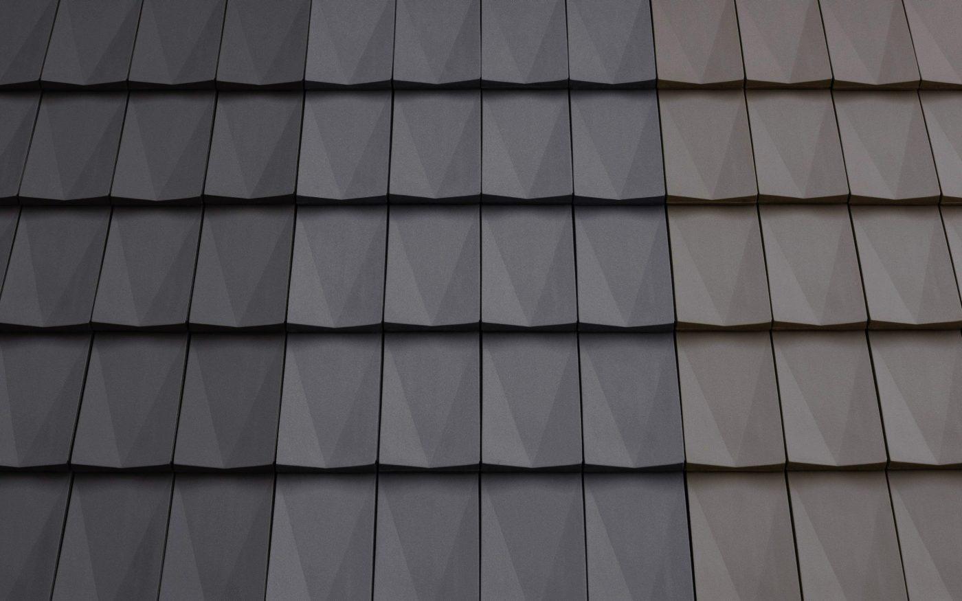Dachówka Koramic V11 - kolory: Antracyt, Bazalt, Tytan